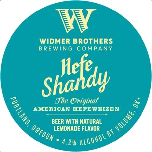 Widmer Brothers Brewing Company Hefe Shandy