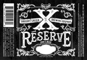 Saucony Creek Brewing Company Xreserve