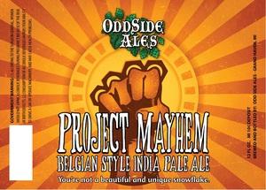 Odd Side Ales Project Mayhem