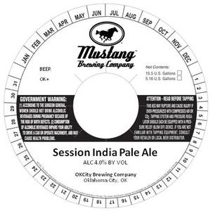 Mustang Brewing Company Session India Pale Ale