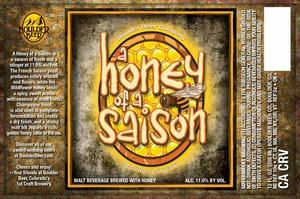 Boulder Beer Company A Honey Of A Saison