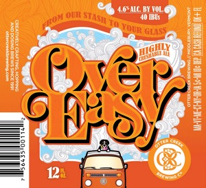 Otter Creek Brewing Over Easy