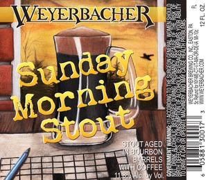 Weyerbacher Sunday Morning Stout