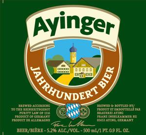 Ayinger Century Celebration Bavarian Lager
