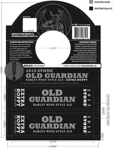 Stone Brewing Co Old Guardian