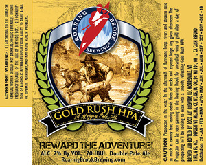 Roaring Brook Brewing Gold Rush Hpa