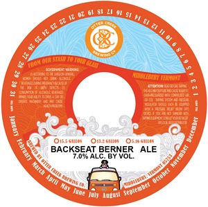 Otter Creek Brewing Backseat Berner