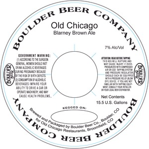 Old Chicago Blarney Brown