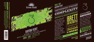 Green Flash Brewing Company Rayon Vert