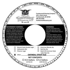 Frankenmuth Oatmeal Stout