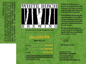 White Birch Brewing Double IPA