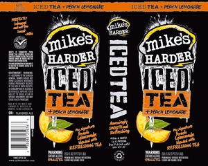 Mike's Iced Tea + Peach Lemonade