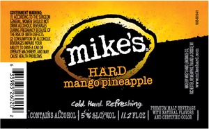 Mike's Hard Mango Pineapple January 2015