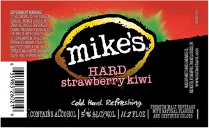 Mike's Hard Strawberry Kiwi