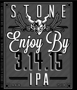 Stone Enjoy By IPA January 2015