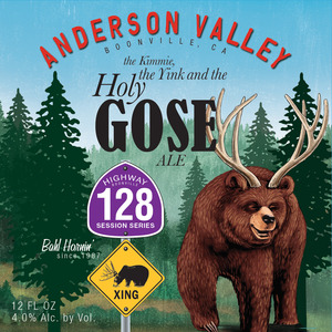 Anderson Valley Brewing Company The Kimmie, The Yink, And The Holy Gose