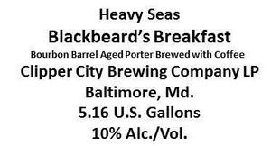 Heavy Seas Blackbeard's Breakfast