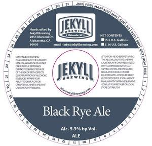 Black Rye Ale