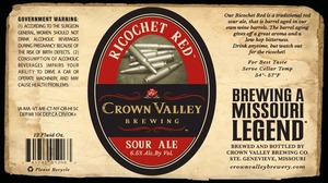 Crown Valley Brewing Co. Ricochet Red