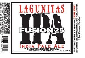The Lagunitas Brewing Company Fusion 25 IPA