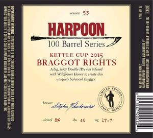 Harpoon Braggot Rights