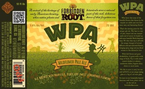 Forbidden Root Benefit Wildflower Pale Ale
