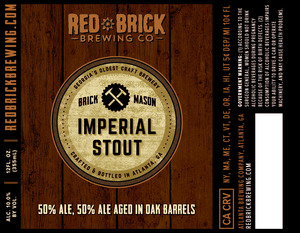 Red Brick Brick Mason Imperial Stout