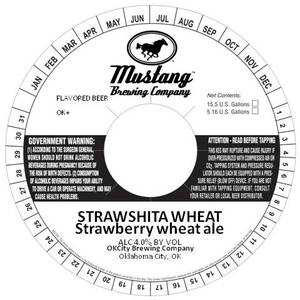 Mustang Brewing Company Strawshita Wheat