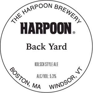 Harpoon Back Yard