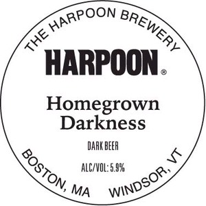 Harpoon Homegrown Darkness