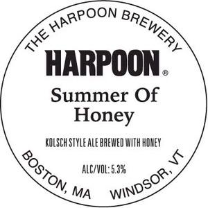 Harpoon Summer Of Honey