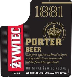 Zywiec Porter January 2015