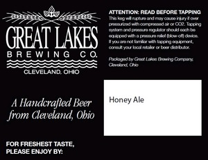 The Great Lakes Brewing Company Honey