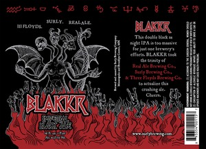 Blakkr Imperial Black Ale