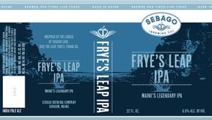 Sebago Brewing Company Frye's Leap