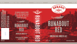 Sebago Brewing Company Runabout Red