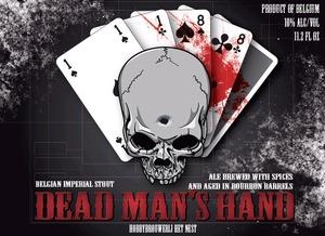 Hobbybrouwerij Het Nest Dead Man's Hand January 2015