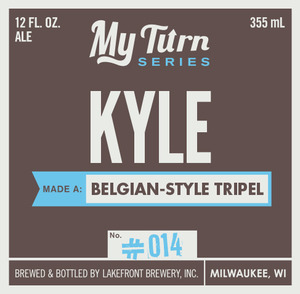 Lakefront Brewery Klye Made A Belgian-style Tripel