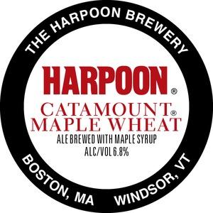 Harpoon Catamount Maple Wheat