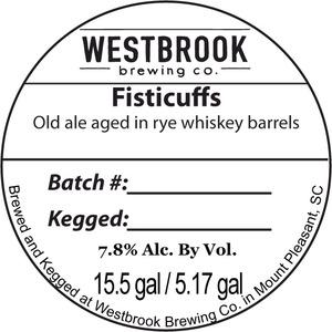 Westbrook Brewing Company Fisticuffs