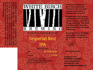 White Birch Brewing Imperial Red IPA
