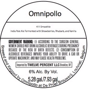 Omnipollo 411 Smoothie