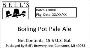 Bell's Boiling Pot Pale Ale