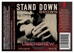 Uberbrew Stand Down Brown