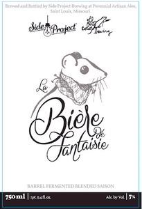 Side Project Brewing La Biere De Fantaisie