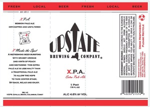 Upstate Brewing Company X.p.a.