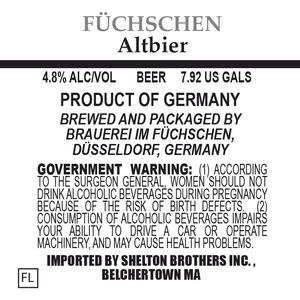 Brauerei Im Fuchschen Altbier