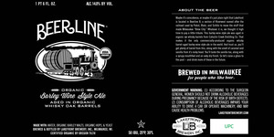 Lakefront Brewery, Inc Beerline Organic Barley Wine Style Ale