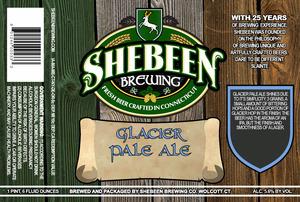 Shebeen Brewing Company Glacier Pale Ale
