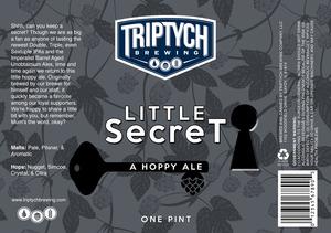 Triptych Brewing Little Secret